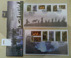 LORD OF THE RINGS stamps - The fellowship of the Ring - First Day Cover