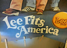 Lee Fits America Junior Teens Jeans Poster 1970s Vintage
