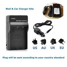 AC Battery Charger For Sanyo DB-L80 Pentax D-LI88 Optio H90 I90 P70 P80 W90 WS80
