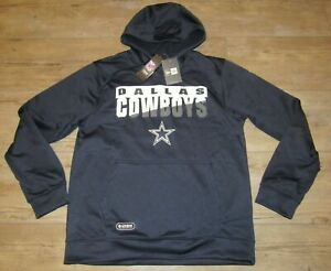 Dallas Cowboys Authentic Combine Team Therma Hoodie Jacket Men's Size Large