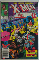 Marvel Comics 1993 The X-Men and the Micronauts # 2 of 4 Limited Series