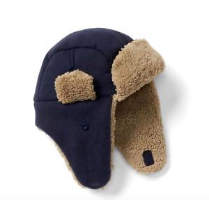 babyGap BOYS Pro Fleece cozy trapper hat NWT SMALL MEDIUM LARGE N7 NNN