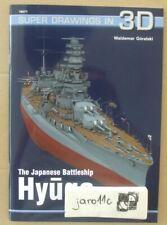 The Japanese Battleship HYUGA - Super Drawings in 3D - Kagero N*E*W