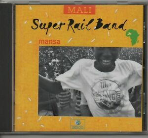 SUPER RAIL BAND mansa 2001 FR INDIGO CD