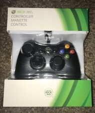 BRAND New Factory sealed Microsoft XBOX 360 Genuine OEM wire Controller S9F00001