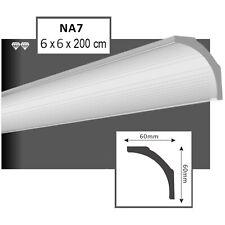 Stuck Leiste Styroporleisten 20 Meter Zierleisten 60x60mm dekor Leisten weiß NA7