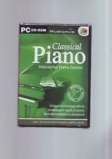 CLASSICAL PIANO : INTERACTIVE PIANO COURSE - PC CD-ROM - FAST POST- NEW & SEALED