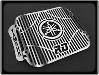 Polished Radiator Cooler Grill for YAMAHA RD250 LC - 1980 to 1985, RD 250