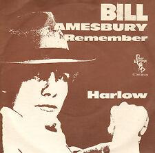 "BILL AMESBURY – I Remember (1976 COUNTRY VINYL SINGLE 7"" DUTCH PS)"