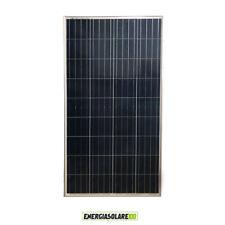 Pannello Solare Fotovoltaico 150W 12V 4 BUS BAR Camper Barca impianto Baita