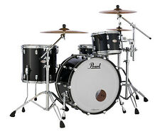 Pearl Reference Shell Pack Piano Black 24x14 13x9 16x16 Drums Free Bags, US Ship