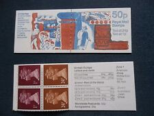 GB QEII FOLDED Stamp Booklet FB59 1991 SG X925m ARCHAEOLOGY