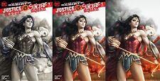 Justice League vs Suicide Squad #1 Legacy Edition Artgerm Virgin Variant Set (3)