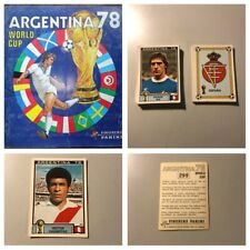 PANINI ARGENTINA 1978 Stickers. Complete your album various quantities available