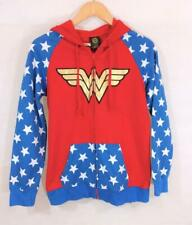 DC COMICS WONDER WOMAN HOODIE Size Large Sz Large Red Blue Gold