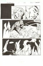 Fear Itself: The Fearless #1 p.20 - All War Machine - 2011 art by Mark Bagley