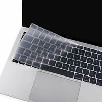 Protège Clavier Transparent Silicone Protection MacBook Pro 13,3/15,4 Europe