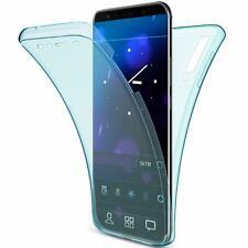 Handy Hülle Full Cover Schutzhülle Silikon Case Transparent HandyTasche Bumper