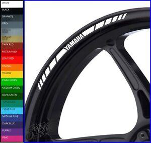 Wheel Rim Stickers Decals - 20 Colors - mt01 mt03 mt07 mt09 mt10 mt125 tracer fz