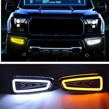 Fog light Daytime Running Light DRL LED Day Light For Ford F150 Raptor 2009-2014