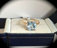 Heating Solitaire Treated Yellow Gold Fine Rings