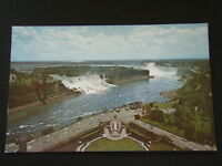 GENERAL VIEW OF NIAGARA AMERICAN HORSESHOE FALLS FROM ONEIDA TOWER POSTCARD