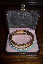 Juicy Couture Set of 4 Bracelets/Bangles (BNIB)