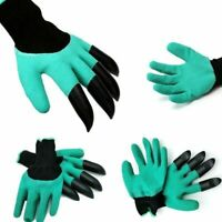Garden Digging Gloves With Claws For Diggin Planting Gardening ABS Claws