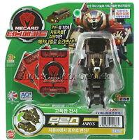 TURNING MECARD URUS Brown Transformer Pop up CAR Robot Korean TV Anime Toy_Nk