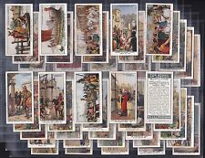 """CHURCHMAN, THE STORY OF LONDON, SET OF 50, ISSUED IN 1934 """" A NICE SET"""""""