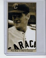 Pete Rose '65 Caracas Venezuelan League Tobacco Road series #15