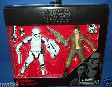 STAR WARS BLACK SERIES POE DAMERON Riot Control - STORMTROOPER 2 Figure pack new