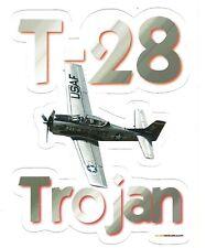 T-28 TROJAN AIRPLANE  Sticker Decal
