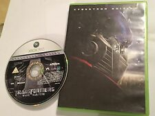 XBOX 360 videogioco TRANSFORMERS THE GAME Cybertron Edition + scatola PAL