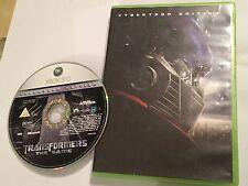 Xbox 360 videojuego Transformers el juego Cybertron Edition + Caja Pal