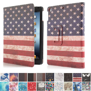 For Apple iPad 6th Generation 9.7 inch 2017 A1822 A1823 Folio Case Cover Stand