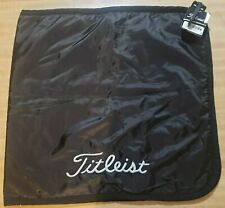 Titleist Dri Hood - towel/bag cover, Black, New