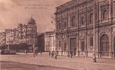 SPAIN - Sevilla - Ayuntamiento y Calle de Canovas del Castillo