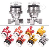 CNC Motorcycle Fork Bolts Preload Adjusters Universal For Kawasaki Ninja250 37mm