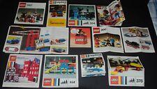 Vintage 1970's Lego Instructions