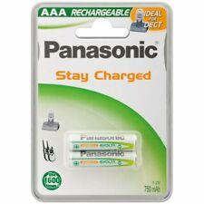 2 x Panasonic AAA Akku´s Accu Ni-MH Micro 1,2V 750mAh DECT Siemens Telefon 1,2V