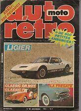 AUTO RETRO 40 LIGIER JS2 BUICK RIVIERA 1963 65 BITTER SC 1979 FREGATE MOTO GUZZI