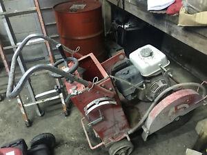 Fairport FS 35/45 Floor / Road Saw Cutter - Honda GX 390 Engine 11.7 hp