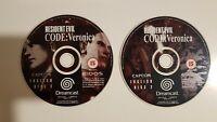 Resident Evil: Code Veronica (Sega Dreamcast, 2000) PAL Disks only