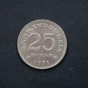1971 Coin Indonesia - Indonesia 25 rupiah, 1971