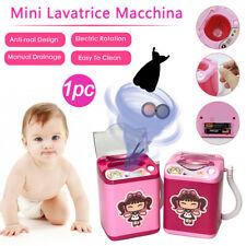 Mini Makeup Blender Washing Machine Brush - Beauty Cleaning Automatic Mini Toy