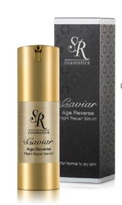 SR Cosmetics Caviar Age Reverse Night Repair Serum 30ml