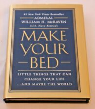 Make Your Bed Book by Admiral William H. McRaven - Hardcover - REVISED