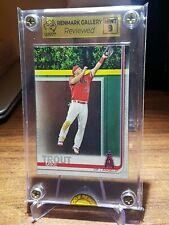 Mike Trout 2019 Topps Baseball Card #100 Graded Card RGA 9 - Mint!