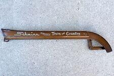 """Schwinn Vintage Tri Wheeler Town and Country 24"""" Chain Guard - Brown"""